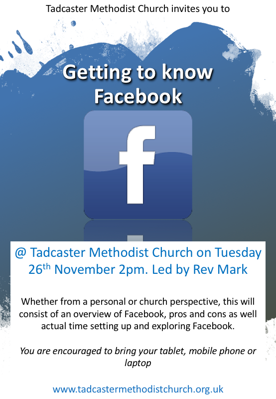 Getting to know Facebook seminar